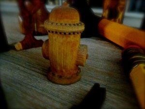 woodenhydrant