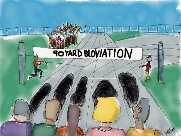 40-Yd Bloviation