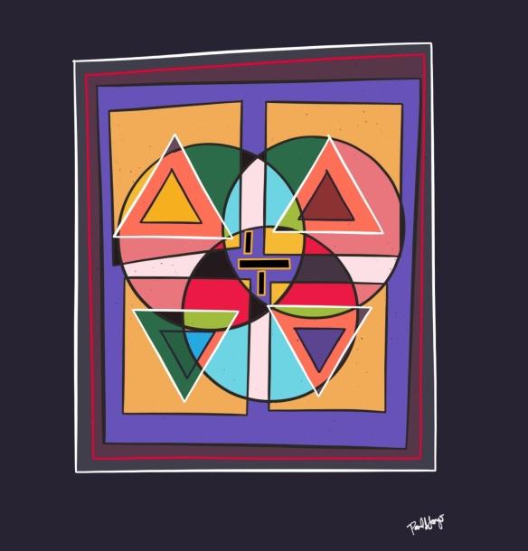 "Triangular Venn Quadrants"""