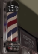 Barber Pole Merced