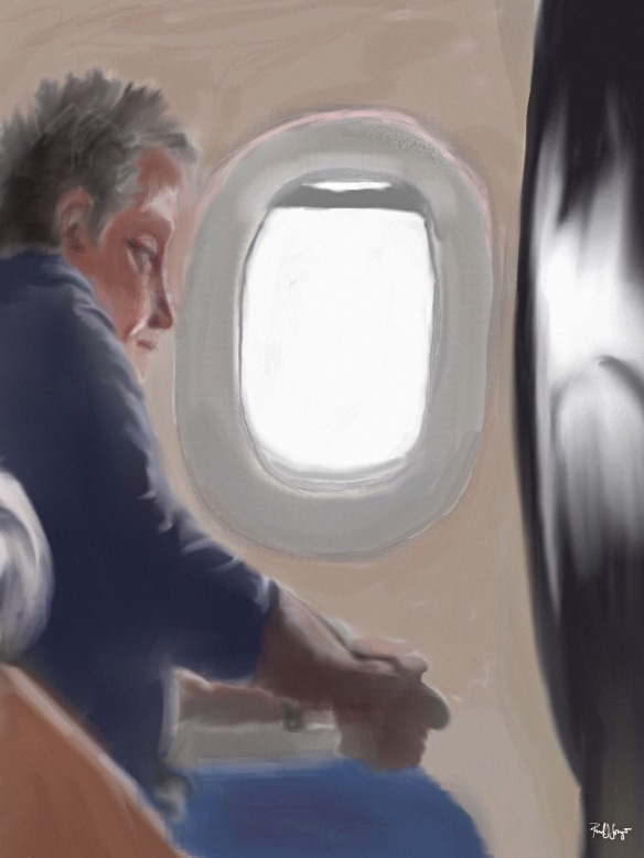 Traveler with Window Seat