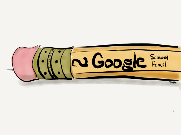 Google's very own Matthew Cruickshank invited us to submit a Google Doodle. A winner was selected...not mine.